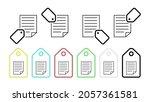editorial  note vector icon in...