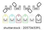 home cinema vector icon in tag...