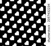 heart seamless pattern... | Shutterstock .eps vector #2057432234