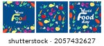 world food day illustration....   Shutterstock .eps vector #2057432627