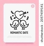 romantic date  wedding.... | Shutterstock .eps vector #2057459141