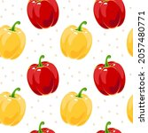 colorful seamless pattern with...   Shutterstock .eps vector #2057480771