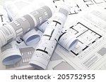 plans | Shutterstock . vector #205752955
