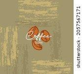 coffee logo creative abstract... | Shutterstock .eps vector #2057567171