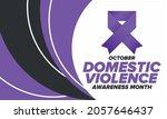 domestic violence awareness... | Shutterstock .eps vector #2057646437