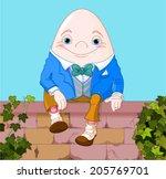 Humpty Dumpty Egg Sitting On A...