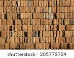 brick texture background | Shutterstock . vector #205773724