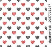 seamless pattern. black red... | Shutterstock .eps vector #2057738297