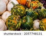 Happy Autumn Message On...