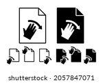 hand  fingers  gesture  swipe ...
