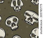 illustration depicting several... | Shutterstock .eps vector #205785775
