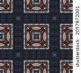 checkered plaid tartan seamless ... | Shutterstock .eps vector #2057872001