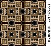 checkered plaid tartan seamless ... | Shutterstock .eps vector #2057872091