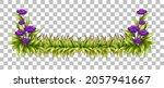 green nature leaves frame... | Shutterstock .eps vector #2057941667