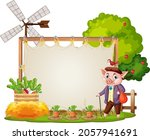 canvas frame template in the... | Shutterstock .eps vector #2057941691