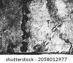 distress old cracked concrete... | Shutterstock .eps vector #2058012977