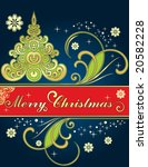 background for new year and for ... | Shutterstock .eps vector #20582228