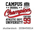 athletic sport  chicago ... | Shutterstock .eps vector #2058450014