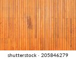 Wooden Flooring Beside The Pool