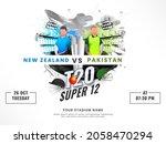 t20 cricket super 12 match... | Shutterstock .eps vector #2058470294