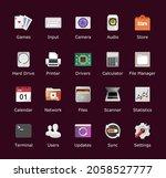 desktop icon pack. computer...