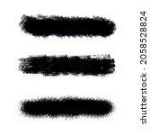 round sponge thin artist brush... | Shutterstock .eps vector #2058528824