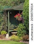 English Back Garden With Gazebo ...