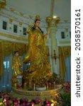 The Golden Guan Yin Spinning...