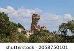 Hoodoo Rock Formation Mt. Lemmon