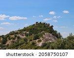 Hoodoo Rock Formation On Mt....