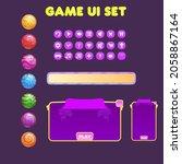 game ui set window purple with...