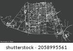 detailed negative navigation... | Shutterstock .eps vector #2058995561