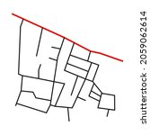 road network image map design... | Shutterstock .eps vector #2059062614