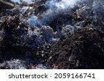 Trash And Smoke Representing A...