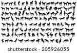 Horse Silhouette Collection....