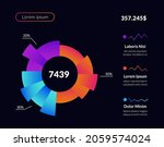 dashboard infographic user...