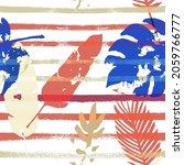 sailor stripes vector seamless... | Shutterstock .eps vector #2059766777