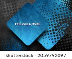 black and blue contrast squares ... | Shutterstock .eps vector #2059792097