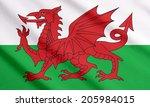 Welsh Flag Waving