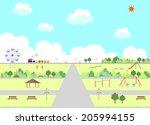 park | Shutterstock .eps vector #205994155