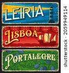 lisboa  leiria and portalegre ... | Shutterstock .eps vector #2059949114