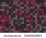 abstract geometric pattern... | Shutterstock .eps vector #2060003801