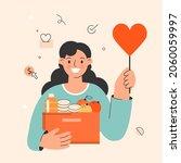 donation concept illustration ...   Shutterstock .eps vector #2060059997
