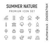 premium pack of summer nature...