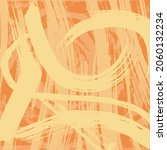 yellow orange grunge background.... | Shutterstock .eps vector #2060132234