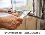 Repairing A Window Frame  Man...