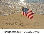 God Bless America Written In...