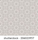 background with seamless... | Shutterstock .eps vector #206023957