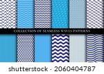 seamless waves different... | Shutterstock .eps vector #2060404787