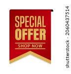 special offer icon illustration ... | Shutterstock .eps vector #2060437514